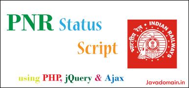 PNR Status script featured image