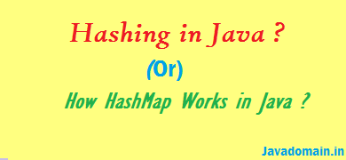 hashing in java example